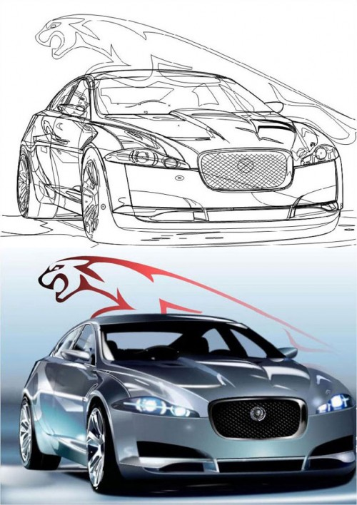 marcocreativo Jaguar XF promocionate