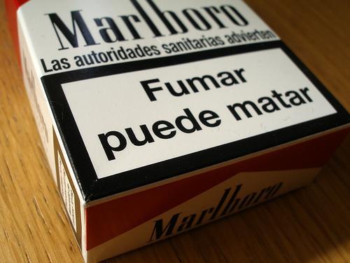 De Fumar Con Cada Vez M  S Expl  Citos En Las Cajetillas De Tabaco