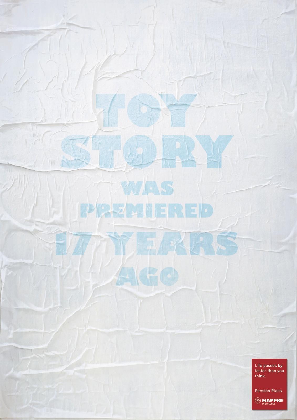 Toy Story se estrenó hace 17 años